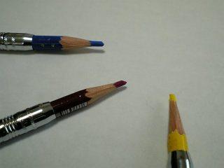 色鉛筆でエコ?