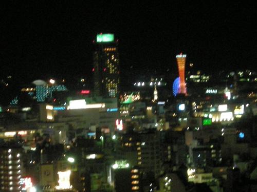 夜景 in 神戸
